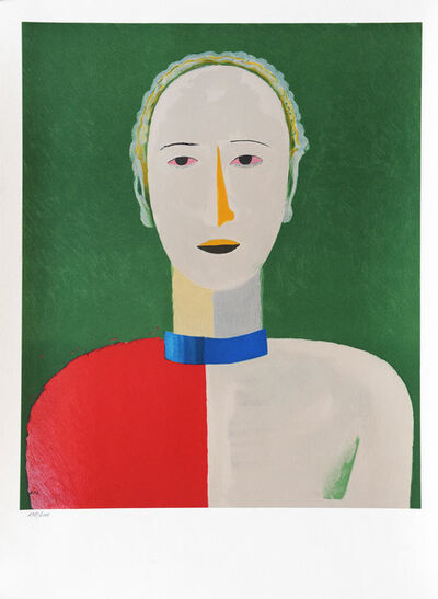 Kasimir Severinovich Malevich, 'Portrait of a Woman', 1992
