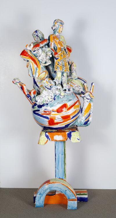 Viola Frey, 'World Civilization #1', 1987