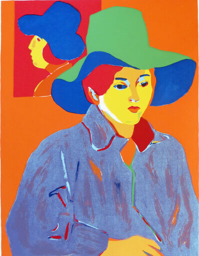 John Grillo, 'Girl With Hat', 1978