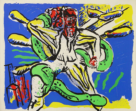 Klaus Killisch, 'Laokoon', 1989