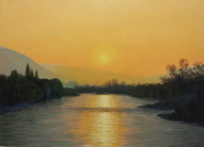 Fred Holcomb, 'Sun, River', 2020