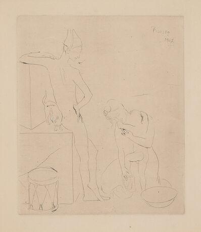 Pablo Picasso, 'Le Bain, plate 12 from La Suite des Saltimbanques (The Bath, from The Acrobats Suite)', 1905