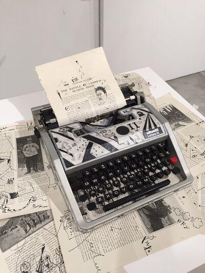 Takanao Kaneko, 'Documents and Concealment', 2017
