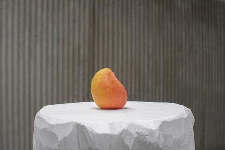 João Loureiro, 'Plinths for mangoes', 2019