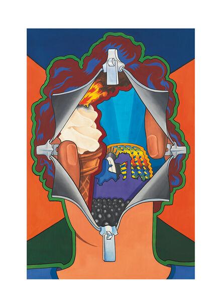 Art Green, 'Disclosing Enclosure', 1968