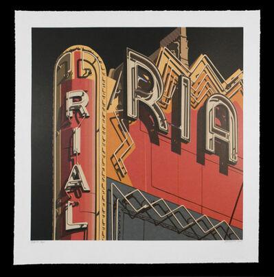 Robert Cottingham, 'Rialto, from American Signs Portfolio', 2009