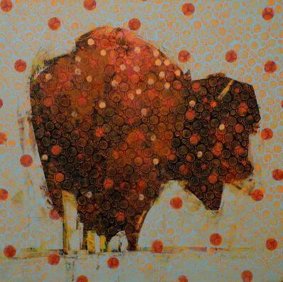 Les Thomas, 'Animal Painting #014-1102'
