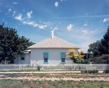 Peter Brown, 'Texline, Texas', 1985