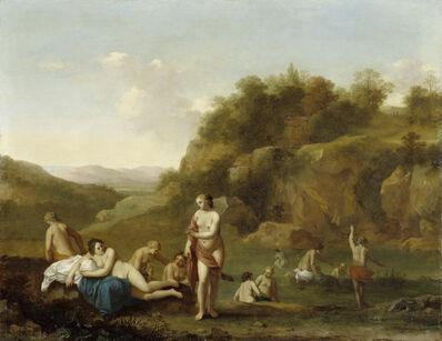 Cornelis van Poelenburgh, 'Landscape with Bathing Nudes', 1640