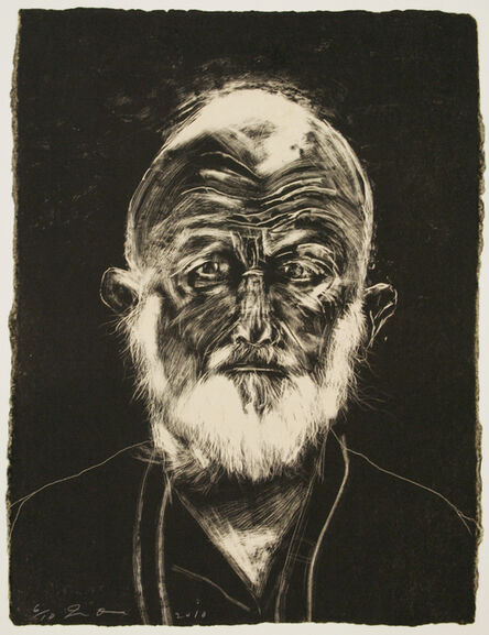 Jim Dine, 'White Beard', 2010