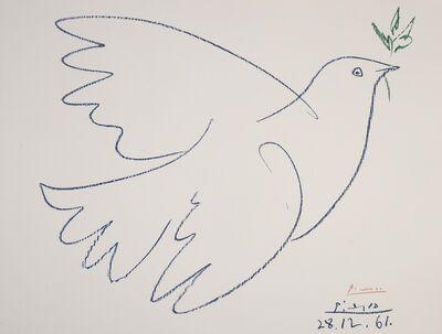 Pablo Picasso, 'Colombe de la Paix (Czwiklitzer 207)', 1962
