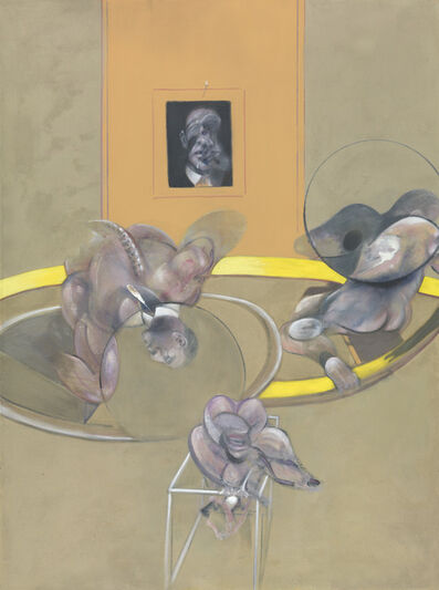 Francis Bacon, 'Three Figures and Portrait', 1975