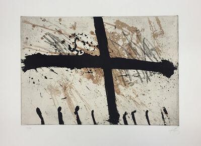 Antoni Tàpies, 'La Grille', 1969