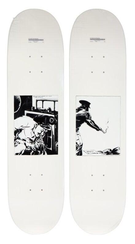 Supreme X Raymond Pettibon, 'Set of Two Skate Decks', 2014