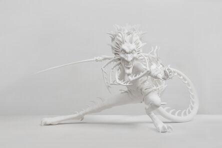 Chen Tianzhuo 陈天灼, 'Against the blade of honour - Guru (Level 2)', 2020