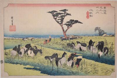 Utagawa Hiroshige (Andō Hiroshige), 'Chiryu', 1832-1833