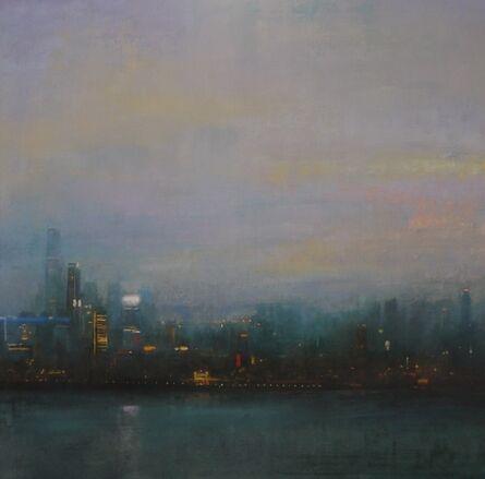 Benjamin Warner, 'Dusk, Hong Kong Harbour', 2017