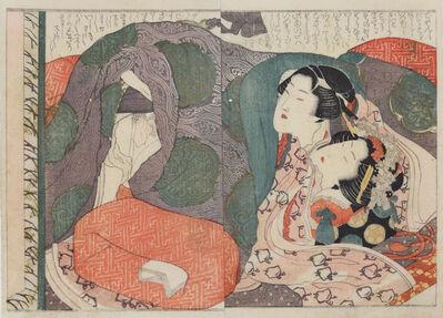 Katsushika Hokusai, 'Young Couple ', ca. 1820