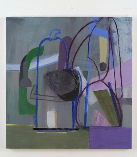 Amy Sillman, 'Untitled (Purple Bottle)', 2013