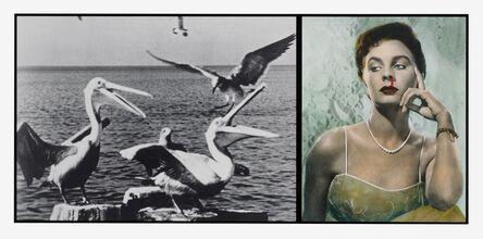 John Baldessari, 'Pelicans Staring at Woman with Nose Bleeding', 1984