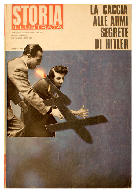 Renaud Auguste-Dormeuil, 'Uncover - Storia Illustrata - Avril 1968 #2', 2013