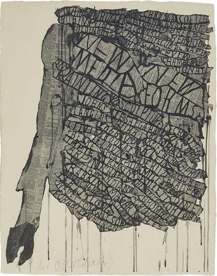 Claes Oldenburg, 'New Media, New Forms', 1960