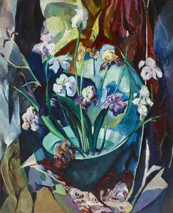 Arthur Beecher Carles, 'Still Life with Irises',
