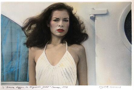 """Elizabeth Lennard, '""""Bianca Jagger on Stigwood's Yacht"""" Cannes', 1975"""