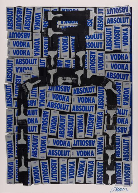 Arman, 'Untitled (Absolut)', 1990