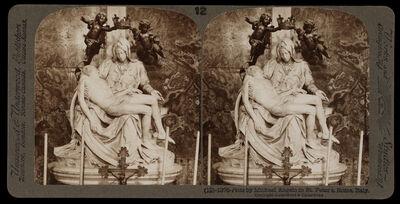 Bert Underwood, 'Pieta by Michelangelo in St. Peter's', 1900