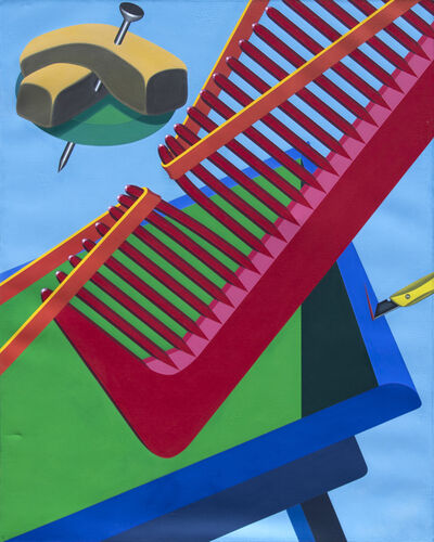 Naoto Nakagawa, 'Comb's Smile', 1970