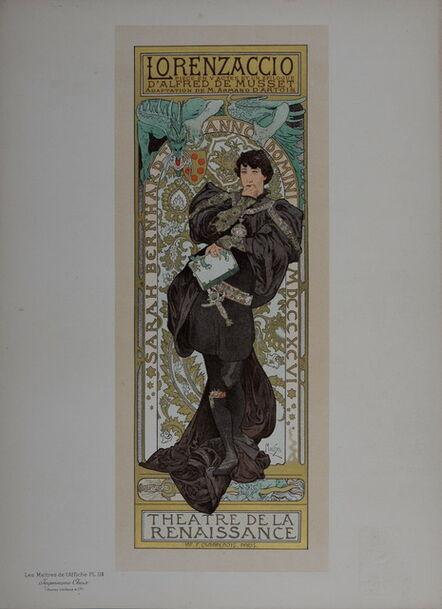 Alphonse Mucha, 'Lorenzaccio', 1896