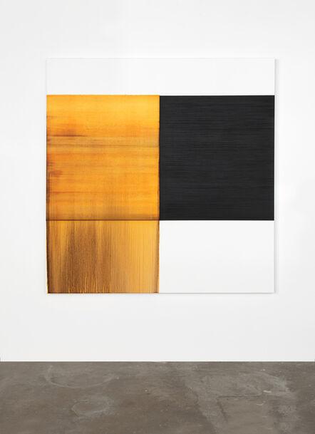 Callum Innes, 'Exposed Painting Quinacridone Gold', 2020