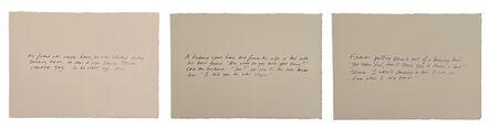 Richard Prince, 'The Greeting Card Jokes (set of 3)', 2011