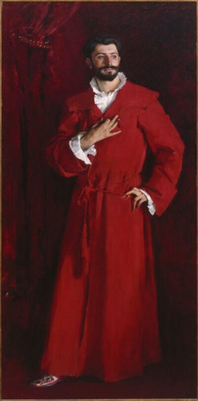 John Singer Sargent, 'Dr. Pozzi at Home', 1881