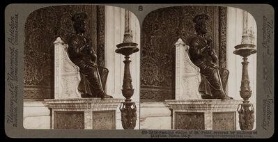 Bert Underwood, 'Famous statue of St. Peter revered by millions of pilgrims', 1900