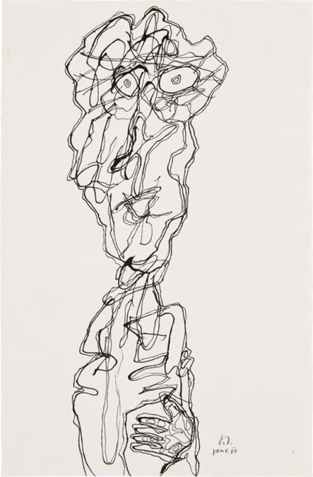 Jean Dubuffet, 'Personnage (P. 14)', 21916
