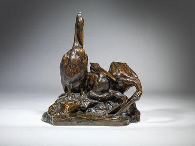 Albéric Collin, 'Three Pelicans', ca. 1911