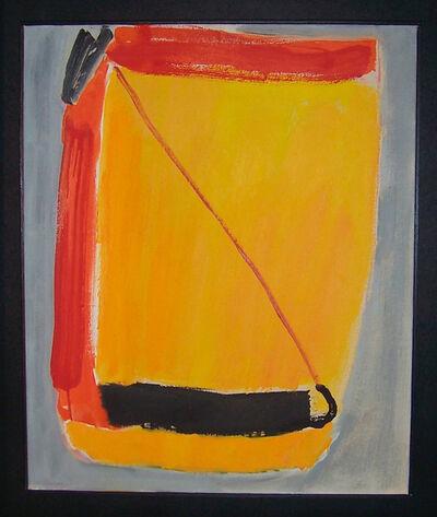 José Guerrero (b. 1914), 'Yellow center ', 1979