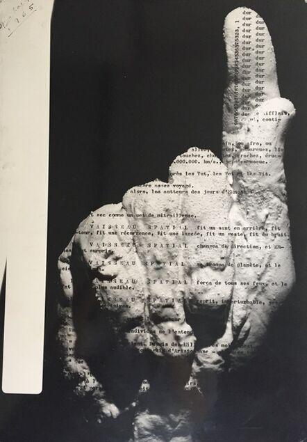 Henri Chopin, 'Untitled', 1965