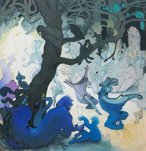 Inka Essenhigh, 'Fairy Procession', 2016