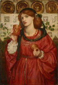 Dante Gabriel Rossetti, 'The Loving Cup', 1867