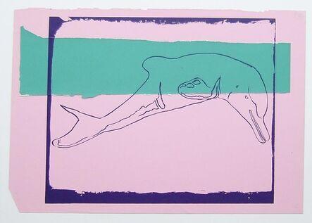 Andy Warhol, 'Vanishing Animals - La Plata River Dolphin', 1986