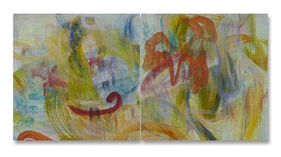 Ginny Sykes, 'Fluid Space IV & V (Diptych)'
