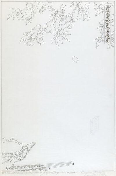 Masami Teraoka, 'McDonald's Hamburgers Invading Japan/Burger and Chopsticks', 1974