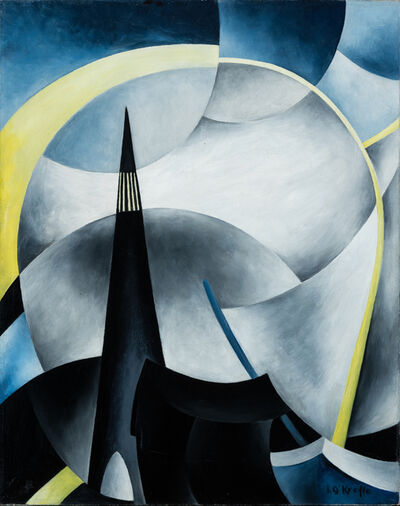 Ida O'Keeffe, 'Variation on a Lighthouse Theme V', ca. 1931-32