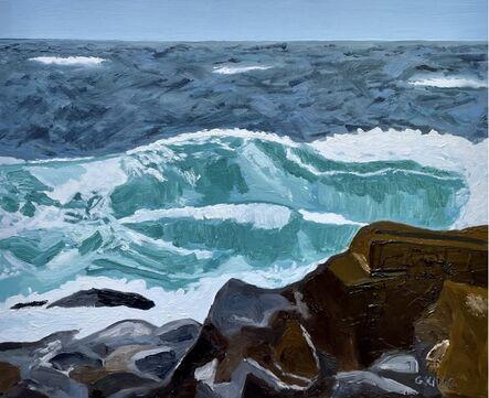 Glenda King, 'Winter Blue', 2021