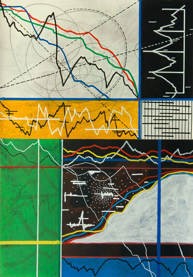 Mounir Fatmi, 'Calligraphy of the unknown 16 (Diptych)', 2019-2020