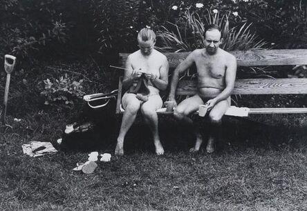 Elliott Erwitt, 'Nudists on Ile du Levant, France', 1968/1968