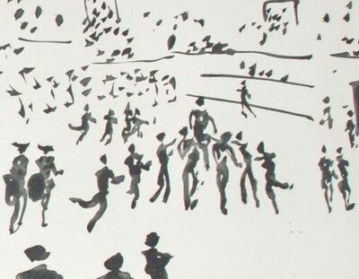 Pablo Picasso, 'El Torero Sale en Hombres de los Aficionados (The Bullfighter Out Among the Fans)', 1959